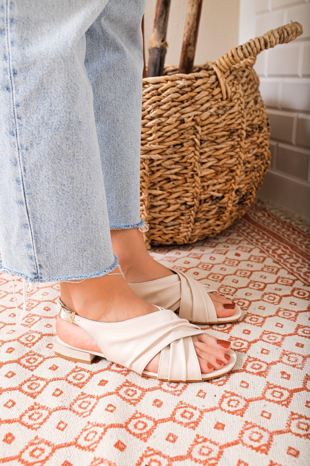 USLUDAN Vinci Ten Kadın Sandalet Us69065