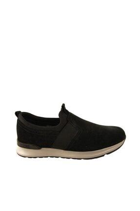 Forelli 43601 Erkek Siyah Nubuk Comfort Ayakkabı 1