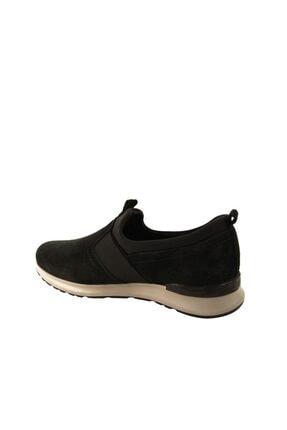 Forelli 43601 Erkek Siyah Nubuk Comfort Ayakkabı 2