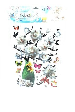 cosy home gift Kristal Vazo Çiçek Ofis Ev Dekor Süsleme Renkli Pvc Sticker 7d Görünümlü Pvc Sticker 0