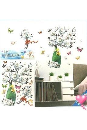 cosy home gift Kristal Vazo Çiçek Ofis Ev Dekor Süsleme Renkli Pvc Sticker 7d Görünümlü Pvc Sticker 1