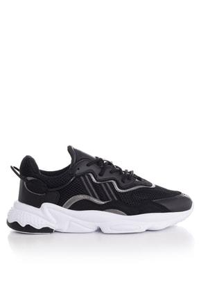 Tonny Black Unısex Spor Ayakkabı Siyah Beyaz Tb248 -> 39 -> Siyah Beyaz 1
