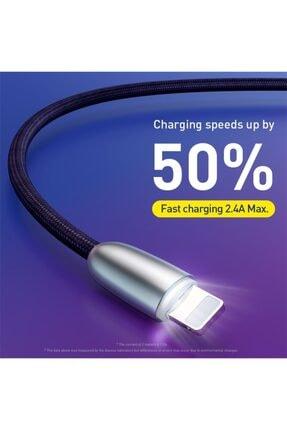Baseus Iphone 2.4a Hızlı Şarj Lightning Şarj Ve Data Kablosu 1