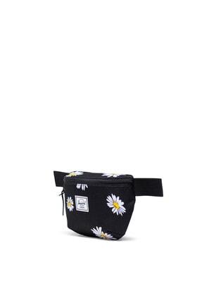 Herschel Fourteen Daisy Black Bel Çantası 10514-03527-os 1