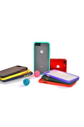 Zore Apple Iphone 8 Plus Kılıf Fri Silikon - 4