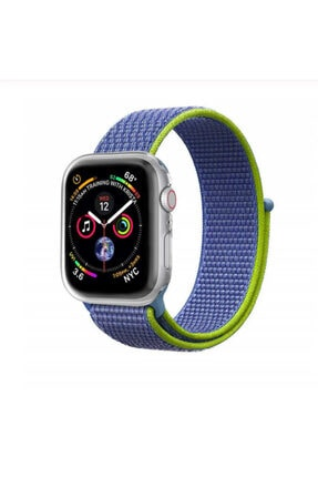 Zore Apple Watch 42mm Krd-03 Hasır Kordon - 0