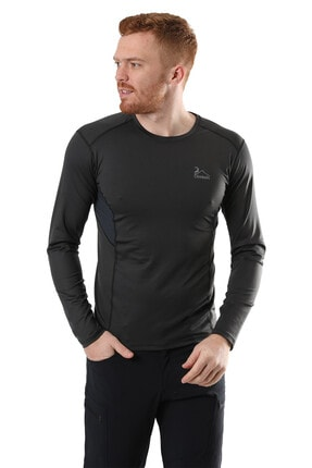 Climbolic Erkek Gri Basic Sweatshirt 0
