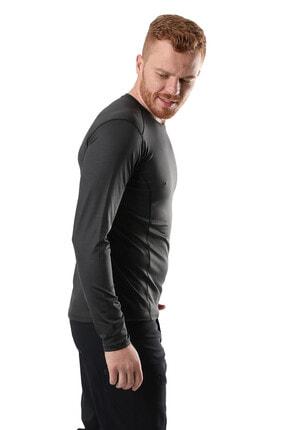 Climbolic Erkek Gri Basic Sweatshirt 2
