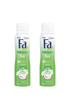 Fa Freshly Free Misket Limonu & Hindistan Cevizi Deosprey x 2 Adet 0