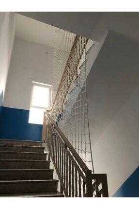 Nodes Beyaz Merdiven Koruma Filesi Ağı 350 x 100 cm 1