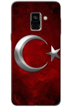 Turkiyecepaksesuar Samsung Galaxy A8 2018 Kılıf Silikon Baskılı Desenli Arka Kapak 0
