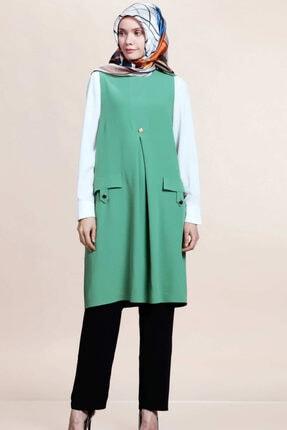 SELAM Kadın Yeşil Tunik Takım 0