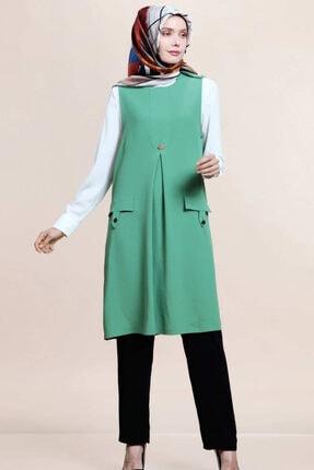SELAM Kadın Yeşil Tunik Takım 1