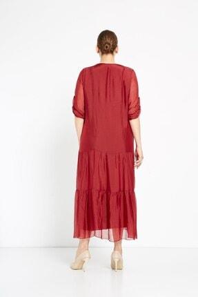 Camena V Yaka Ipek Elbise 2019070500172 2