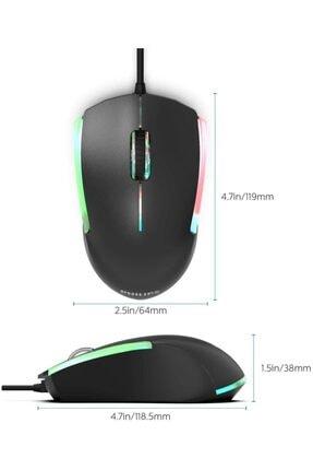 Philips Siyah Usb Kablolu Oyuncu Mouse 2