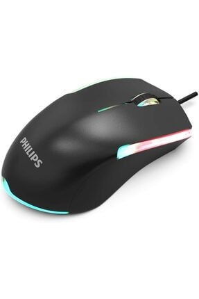Philips Siyah Usb Kablolu Oyuncu Mouse 3