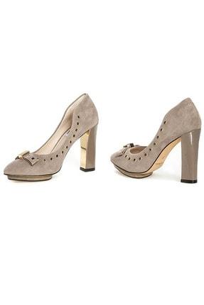 CLARKS Kadın Gri Azızı Immy Topuklu Ayakkabı 1