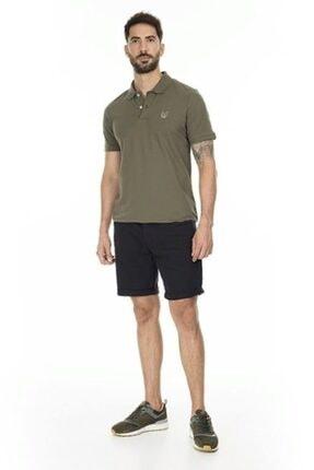 Jack & Jones Jack Jones Erkek Armalı Haki Yeşil Polo Yaka Tişört 12171670 3