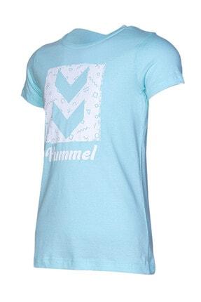 Picture of HMLCALINA  T-SHIRT S/S Turkuaz Kız Çocuk T-Shirt 100580997