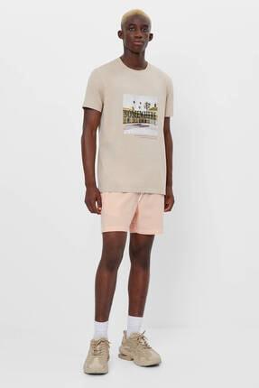 Bershka Baskılı T-shirt 4