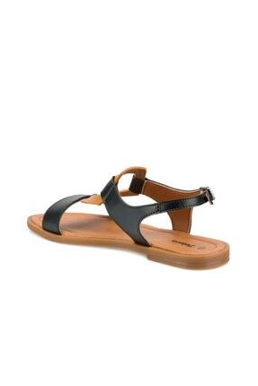 Polaris 315290.Z Siyah Kadın Sandalet 100507404 2