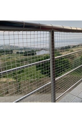 Nodes 350*100cm - Balkon Filesi Ağı - Kedi Filesi - Kuş Filesi - Çocuk Filesi - Siyah 1