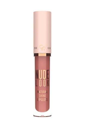 Golden Rose Doğal Işıltılı Dudak Parlatıcısı - Nude Look Natural Shine Lipgloss No:04 Peachy Nude 8691190967437 0