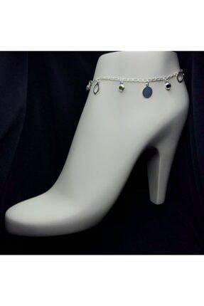Midyat Gümüş Kenti Kadın 925 Ayar Yaz Modeli Gümüş  Halhal 0