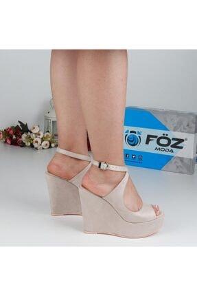 Föz Bej Kadın Dolgu Topuklu Ayakkabı OZ00667 0
