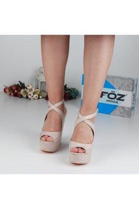 Föz Bej Kadın Dolgu Topuklu Ayakkabı OZ00667 1