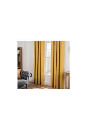 Sarı Fon Perde 7400115