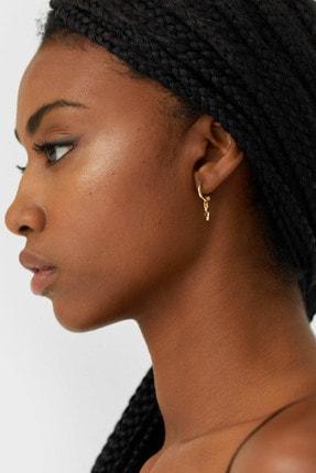 Stradivarius Kadın Siyah 8'Li Küpe Seti 03055005 4