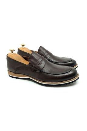 Tetri Erkek Kahverengi Deri Klasik Ayakkabı 2