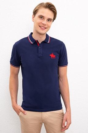 US Polo Assn Lacıvert Erkek T-Shirt 0