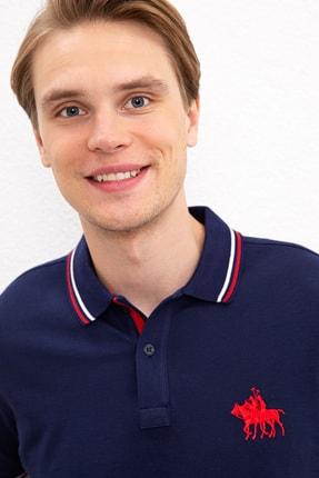 US Polo Assn Lacıvert Erkek T-Shirt 1