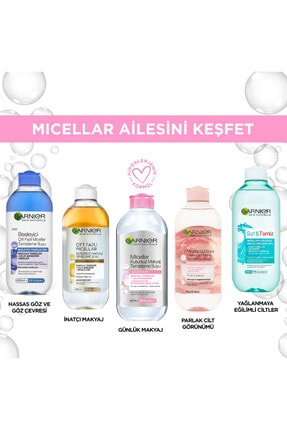 Garnier 2'li Micellar Kusursuz Makyaj Temizleme Suyu 400 ml 36005413585532 3