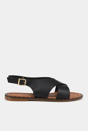 Siyah Kadın Sandalet 01SAY183020A100