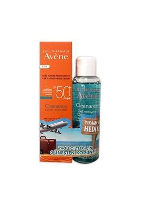 Avene Cleanance Solaire Spf50 50 ml + Yıkama Jeli Hediye 0