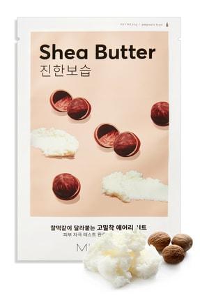 Missha Shea Yağı Besleyici ve Yoğun Nemlendirici Yaprak Maske (1ad) Airy Fit Sheet Mask Shea Butter 0
