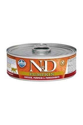 ND Balkabaklı Tavuk Ve Narlı Kedi Konservesi 80 gr 1