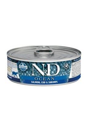 ND Ocean M.Balığı & Karides &Balkabağı Yavru Kedi 80 Gr 0