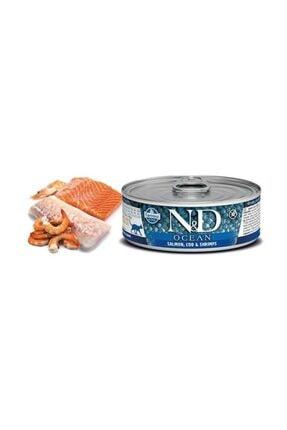 ND Ocean M.Balığı & Karides &Balkabağı Yavru Kedi 80 Gr 1