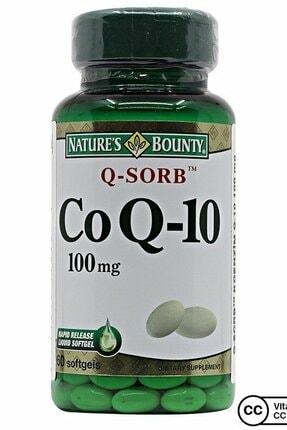 Natures Bounty Coq-10 (Q-Sorb) 100 Mg 60 Kapsül 0