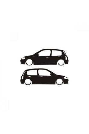 TSC Clio Araba Resmi Cam Sticker Yapıştırma 0