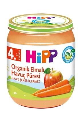Hipp Organik Elmalı Havuç Püresi 125 gr 0
