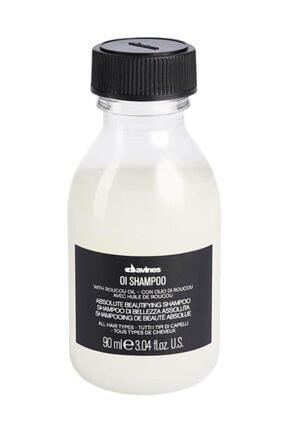 Davines Oi/Oil Tüm Saç Tipleri İçin Sülfatsız Bakım Şampuanı 90 ml 0
