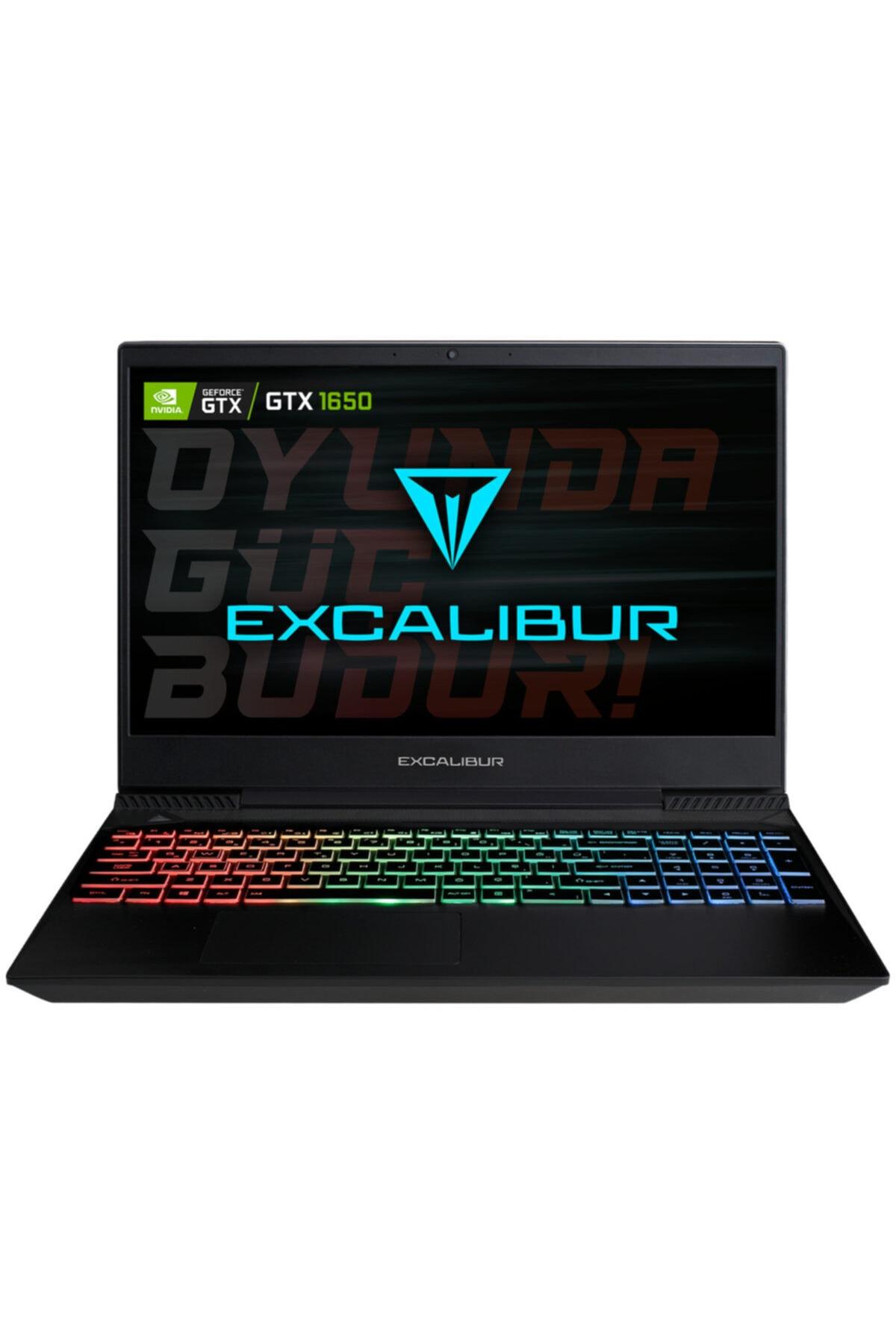 EXCALIBUR G770.9300-8UH0X İ5-9300H RGB 8GB 240GB M2 SSD GTX1650 4GB 15.6'' FREEDOS