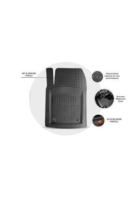 Otobestto Lada Vega  Uyumlu 4D Havuzlu Kauçuk Paspas Siyah Kaymaz Taban 1.Sınıf Kauçuk Ücretsiz Kargo 1