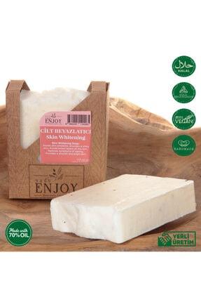 Enjoy Doğal Cilt Beyazlatıcı El Yapımı Yüz, Saç Ve Vücut Sabunu 100 gr 2