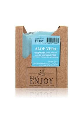 Enjoy Doğal Aloe Vera El Yapımı Yüz, Saç Ve Vücut Sabunu 100 Gr 0